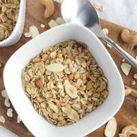 Simple Nutty Granola
