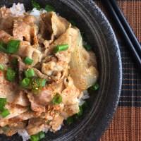 Japanese Butadon Pork Bowls