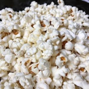 A bowl of popcorn