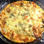 Crustless Roasted Vegetable Quiche