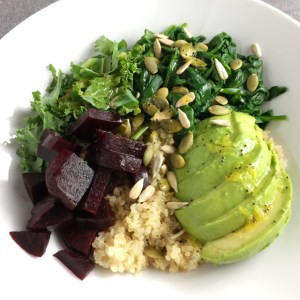 Super Food Quinoa Bowl