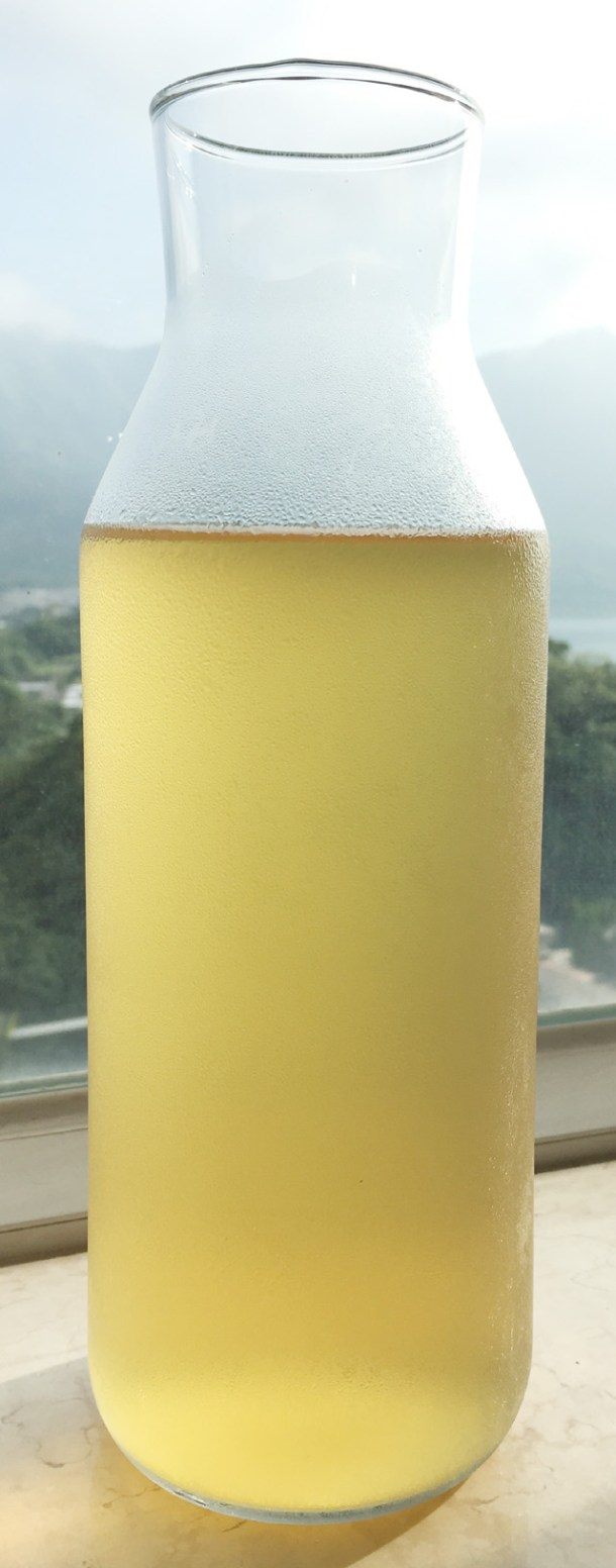 A bottle of Cold Brewed Tea