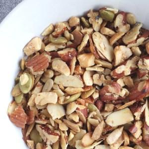 Easy Grain Free Nutty Granola