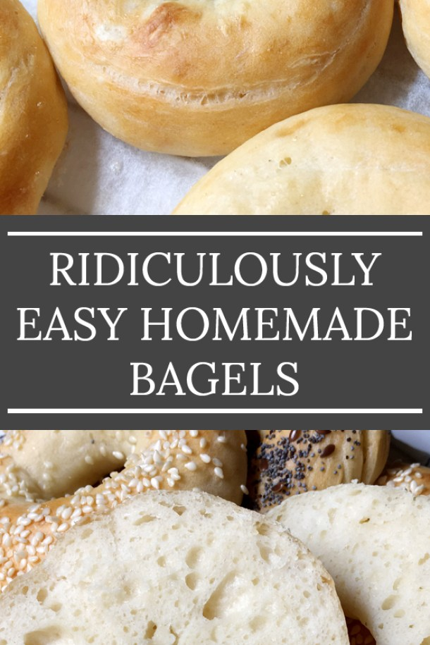 Several Ridiculously Easy Homemade Bagels - Favorites of 2018