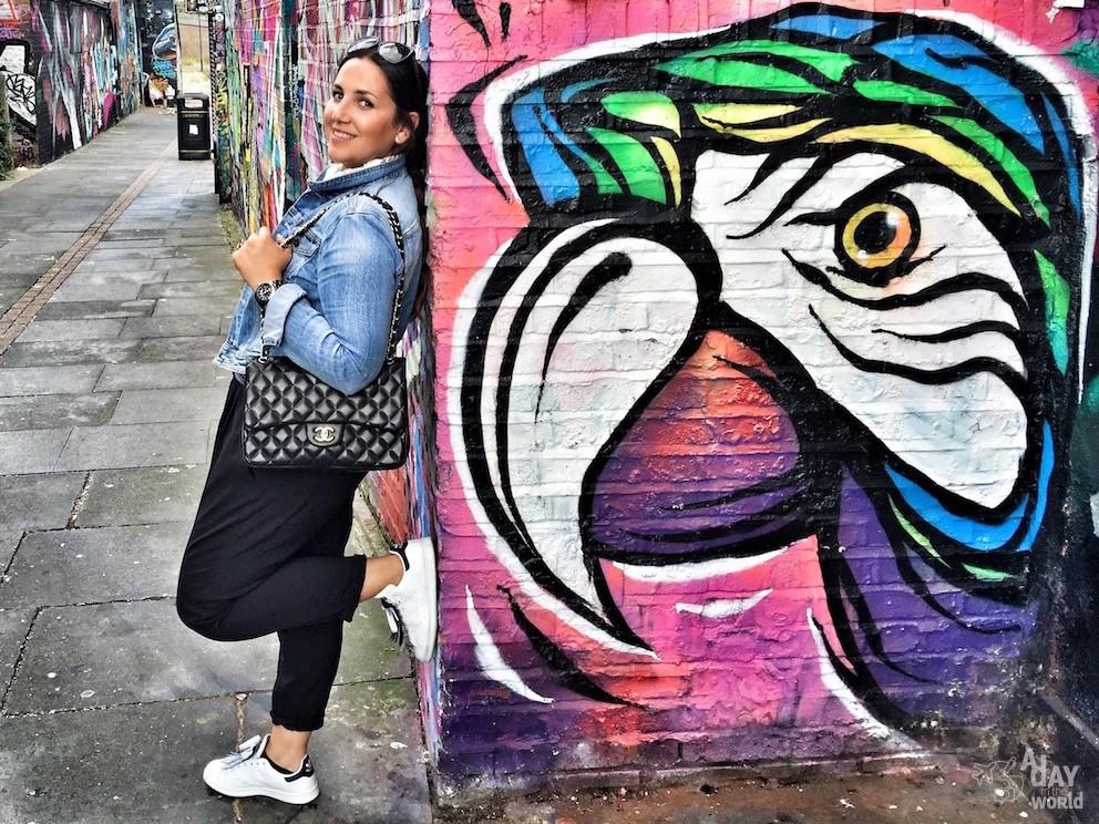 marie frayssinet street art london