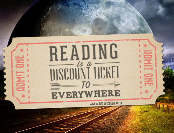 Reading is a discount ticket to everywhere. ― Mary Schmich Inspirational Reading Quotes