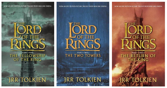 Image result for lord of the rings trilogy books