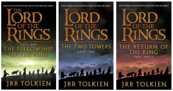 Image result for lord of the rings books cover