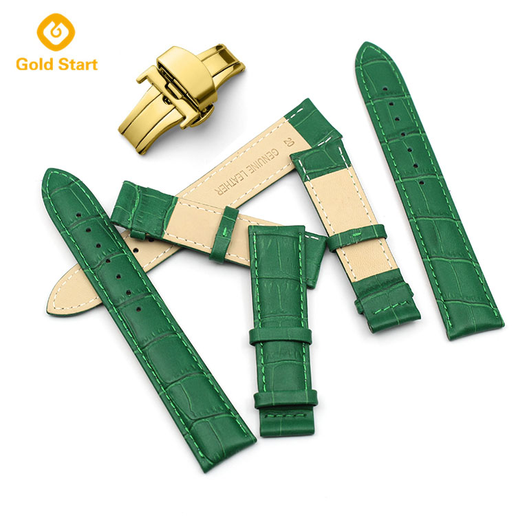 crocodile watch strap
