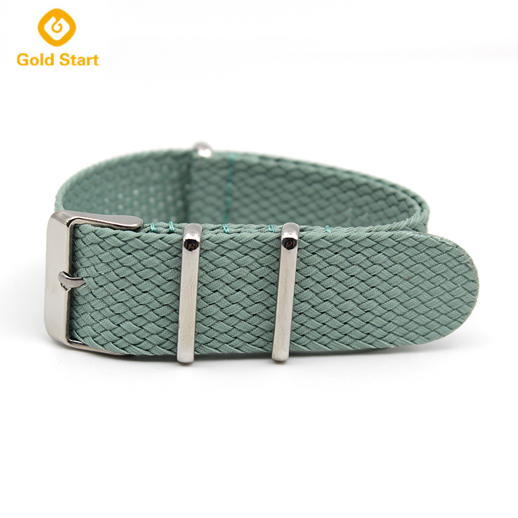 Green Nato Strap best perlon braided nylon factory