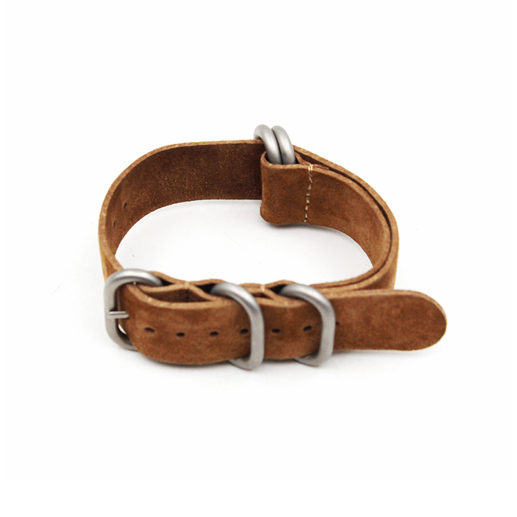 zulu strap leather 1.6mm thick