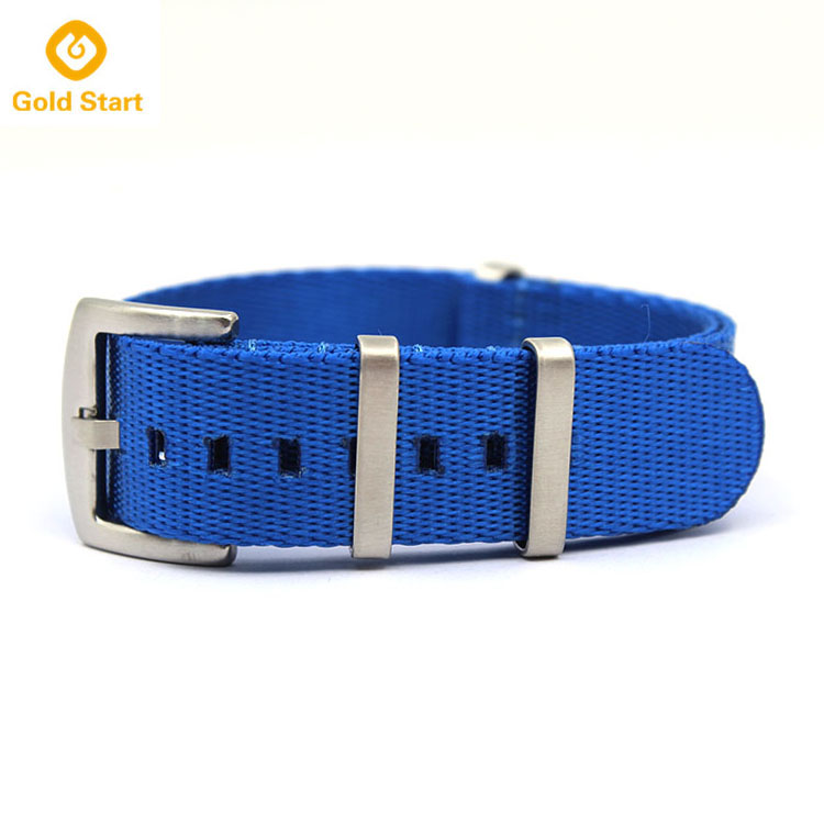navy blue nato strap seatbelt nylon