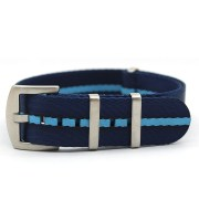 maratac nato strap navy light blue heavy duty