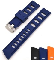 rubber watch straps tropical blue