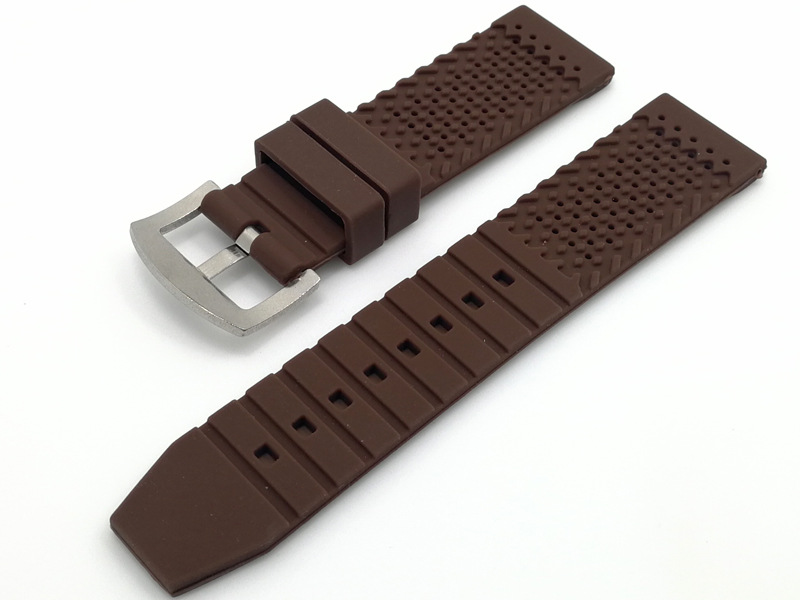 custom rubber watch straps high quality