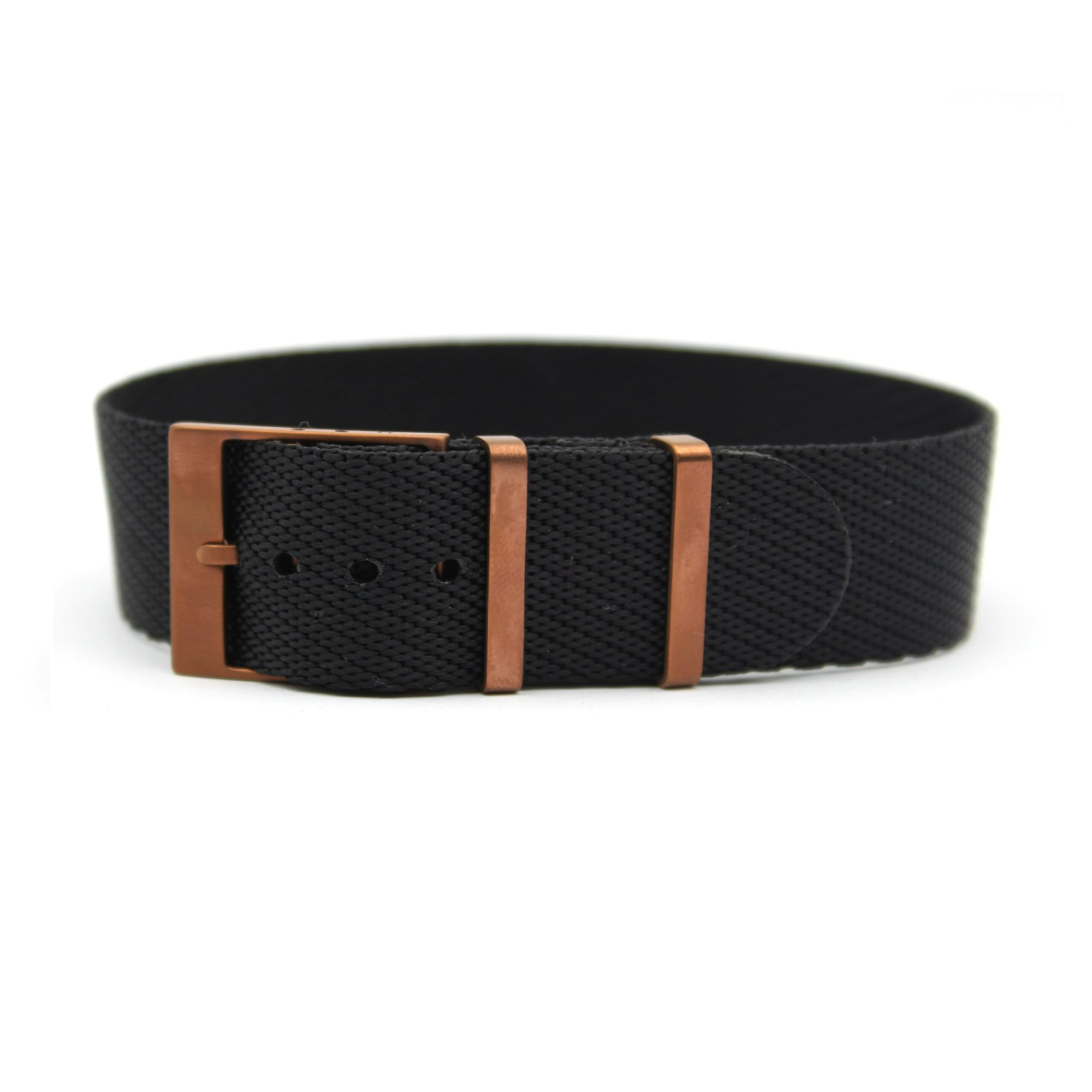 bronze nato strap Black adjustable for tudor