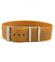 nato strap gold color adjustable buckle