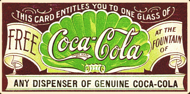 Coca Cola Coupons For Free Drinks Punch Cards