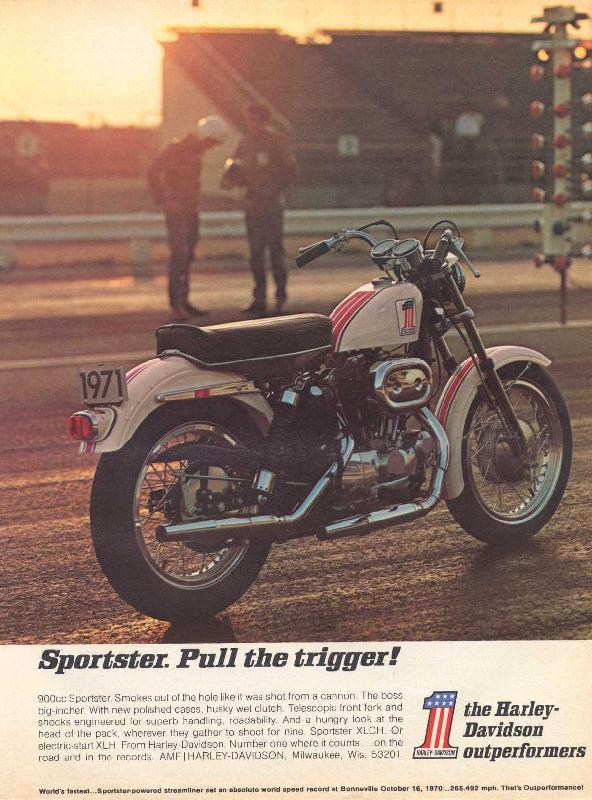 Sportster Pull The Trigger 1971