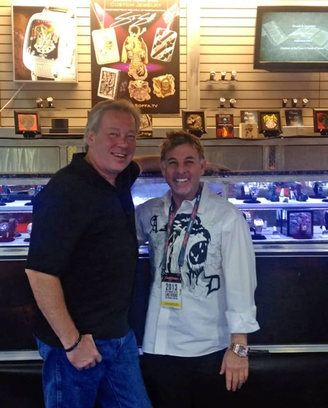 A.D. Cook and Steve Soffa at Barrett-Jackson, Las Vegas, NV