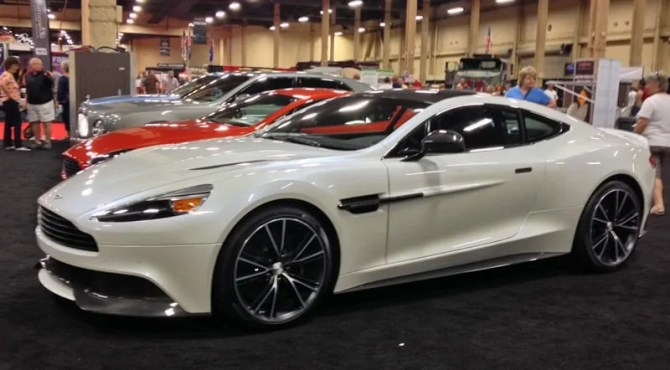 Aston Martin at Barrett-Jackson, Las Vegas, NV 2013