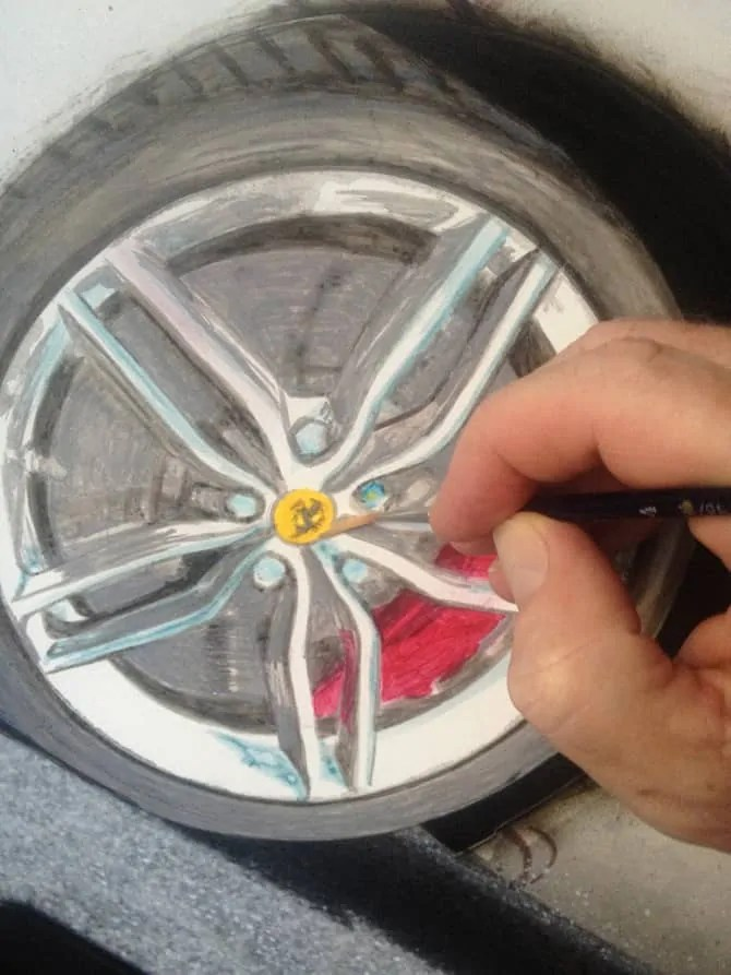 Fast Forward - Painting the wheels