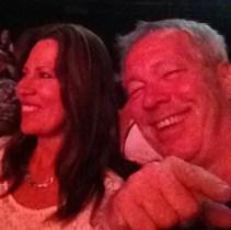 At Raiding the Rock Vault - Jeannie & A.D. Selfie