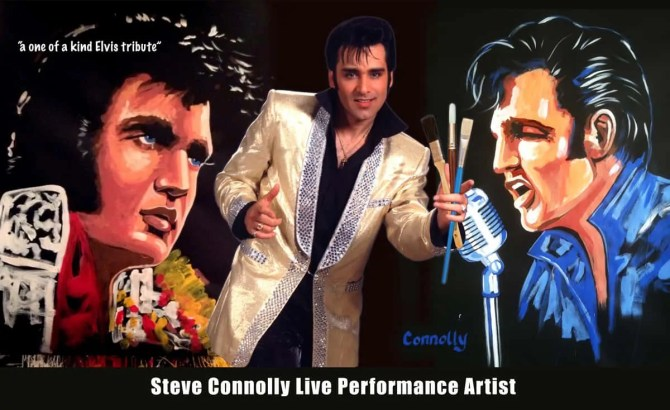 Steve Connolly - Elvis - Three Of A Kind