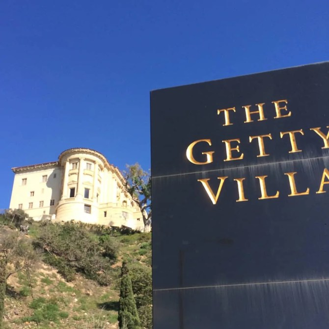 Getty Villa Hilltop Mansion, Malibu, CA