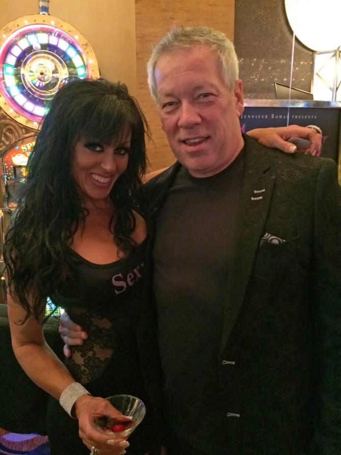 Sexxy Jennifer Romas and A.D. Cook, Sexxy Show Las Vegas
