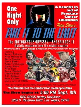 Take it to the Limit - The Motorcycle Odyssy