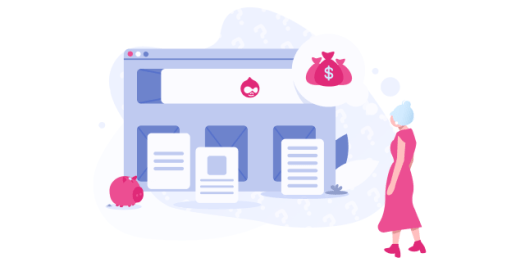 How much does it cost to build a website with Drupal in 2019