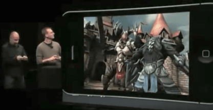 Epic Games Infinity Blade Reveal