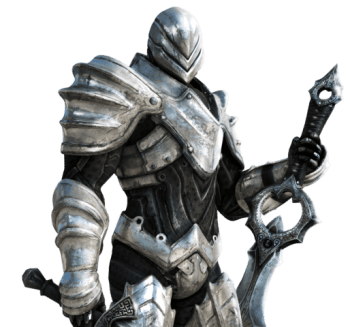 Epic Games Infinity Blade character