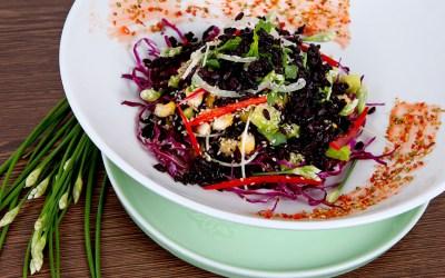 Salad Gạo Đen