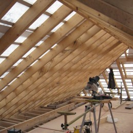 Loft Conversion in Progress