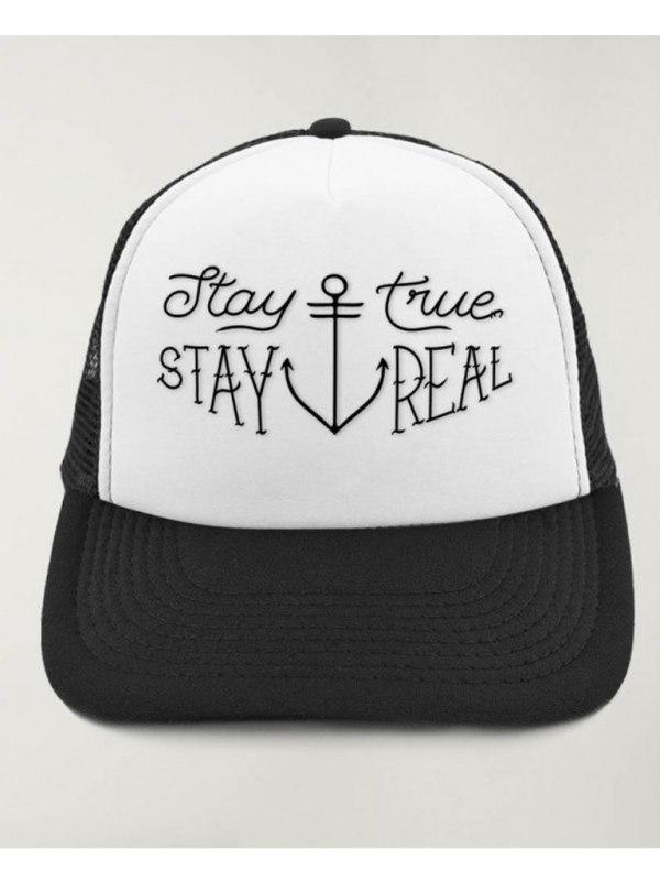 VIENTO - Stay True Keps Svart/Vit