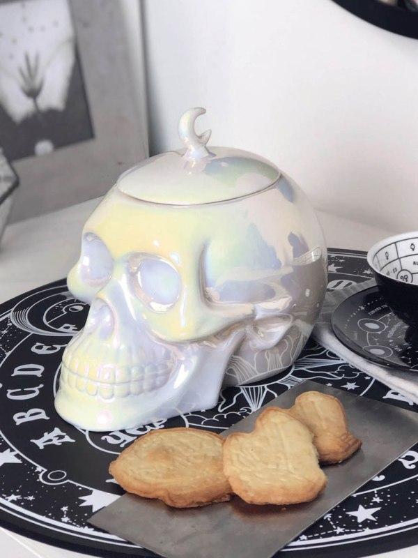 KILLSTAR - Skull Cookie Jar [Aura]