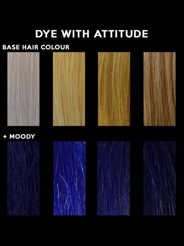 ATTITUDE - Moody Blue Hårfärg