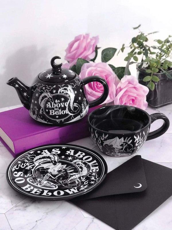 KILLSTAR - As Above Teapot & Cup