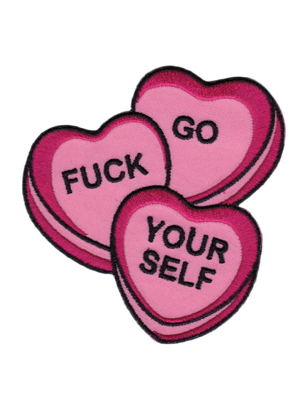 SOURPUSS - Candy Hearts Patch