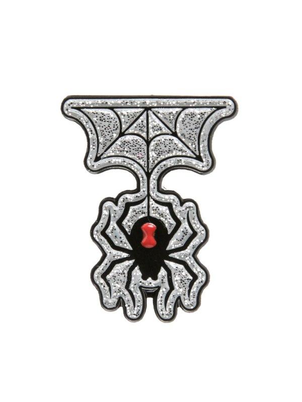 SOURPUSS - Spider & Web Pin