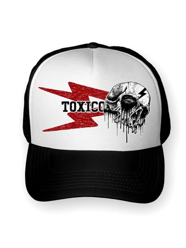 TOXICO - Bolt Skull Keps