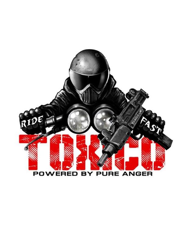 TOXICO - Ride Fast Sticker