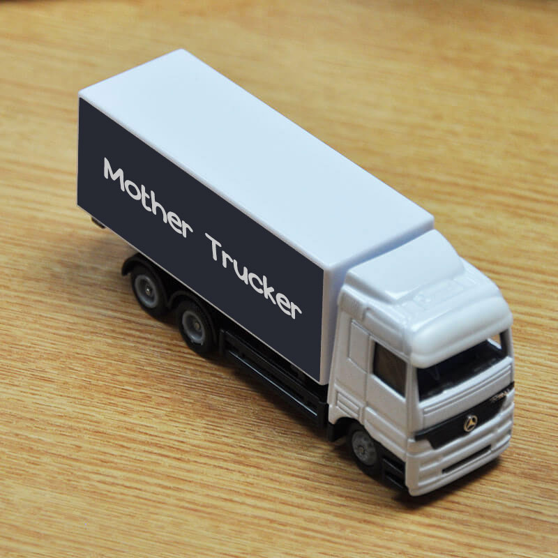 personalised toy truck