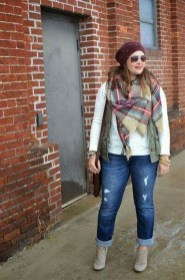 Casual And Comfy Plus Size Fall Outfits Ideas23