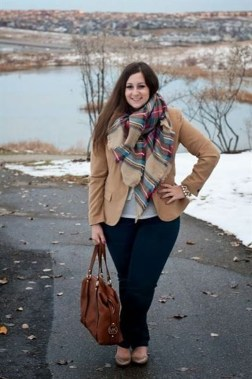 Casual And Comfy Plus Size Fall Outfits Ideas45