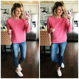 Easy And Cute Summer Outfits Ideas For School10
