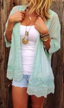 Easy And Cute Summer Outfits Ideas For School27