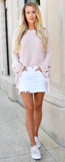 Easy And Cute Summer Outfits Ideas For School40